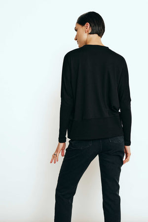 PAUL BLACK SWEATSHIRT - Les Goodies