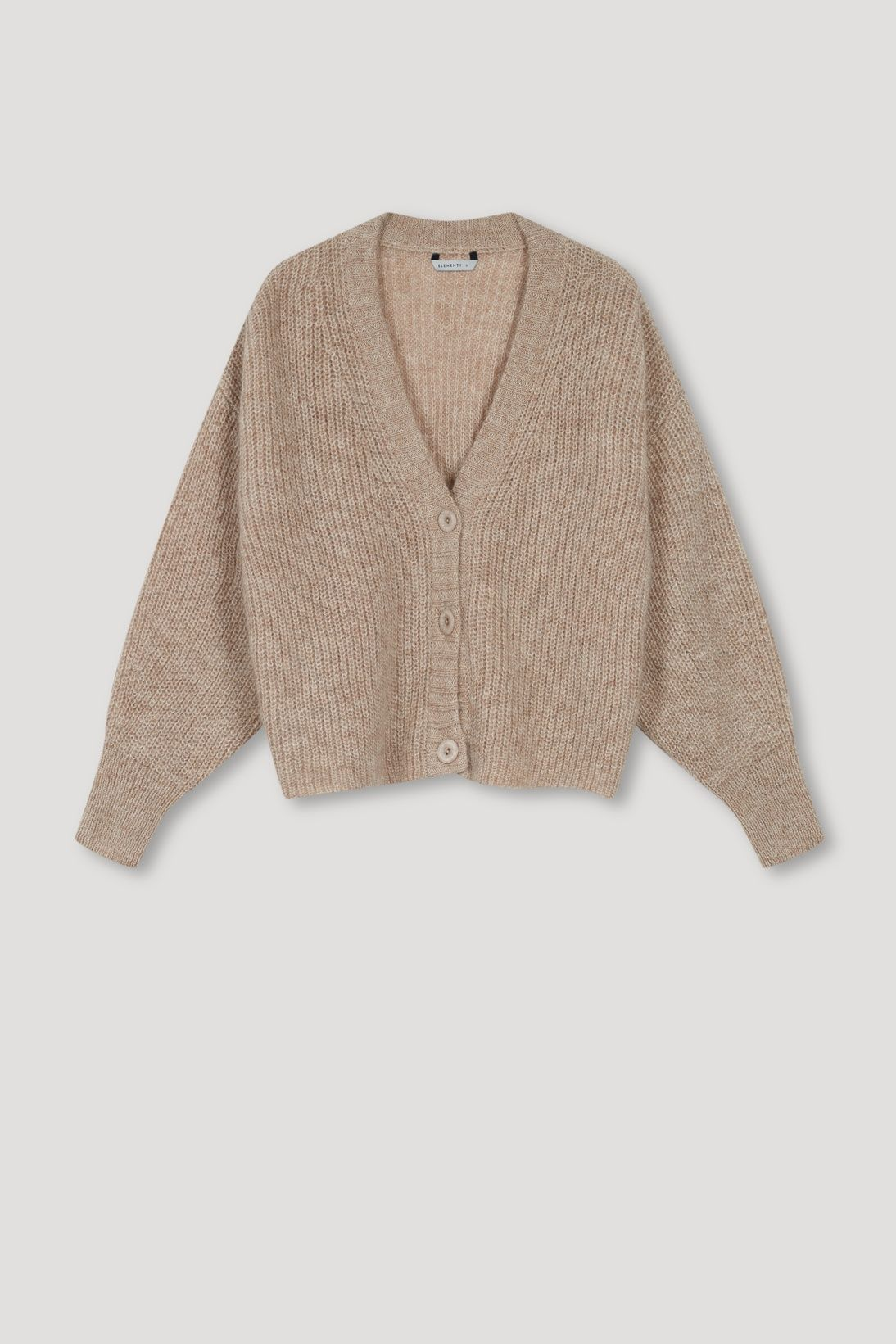 PICO TAUPE CARDIGAN - Les Goodies