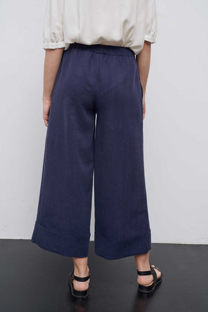 Saly Navy Pants - Les Goodies
