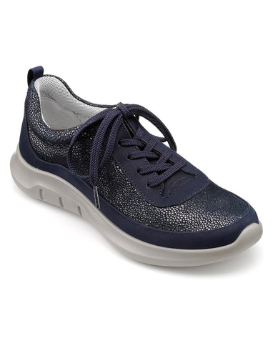 Hotter Star Ladies Trainers Navy