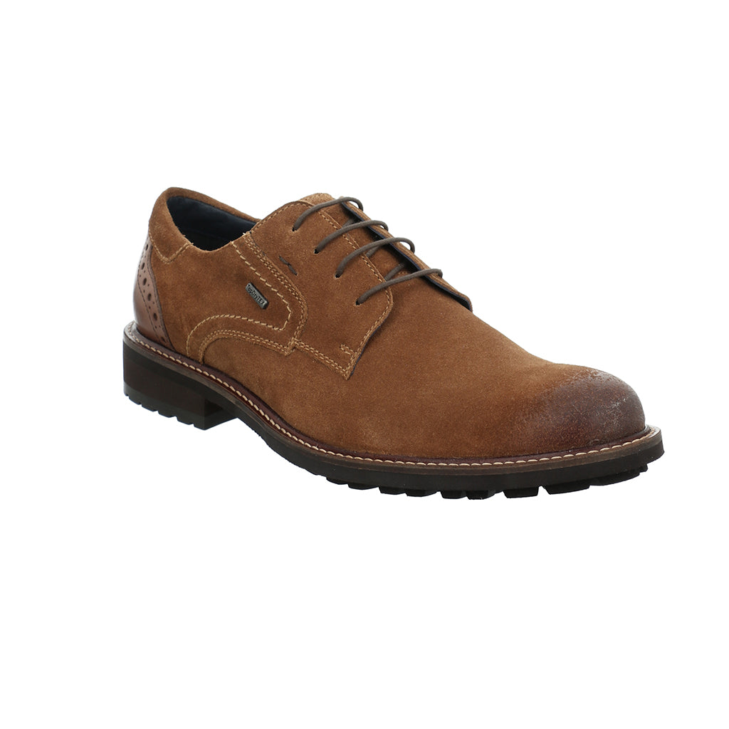Josef Seibel Jasper 52 Lace Up Shoe Camel Kombi