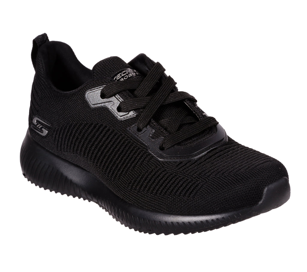 Skechers 32504 Bobs Squad-Tough Talk Trainer BBK