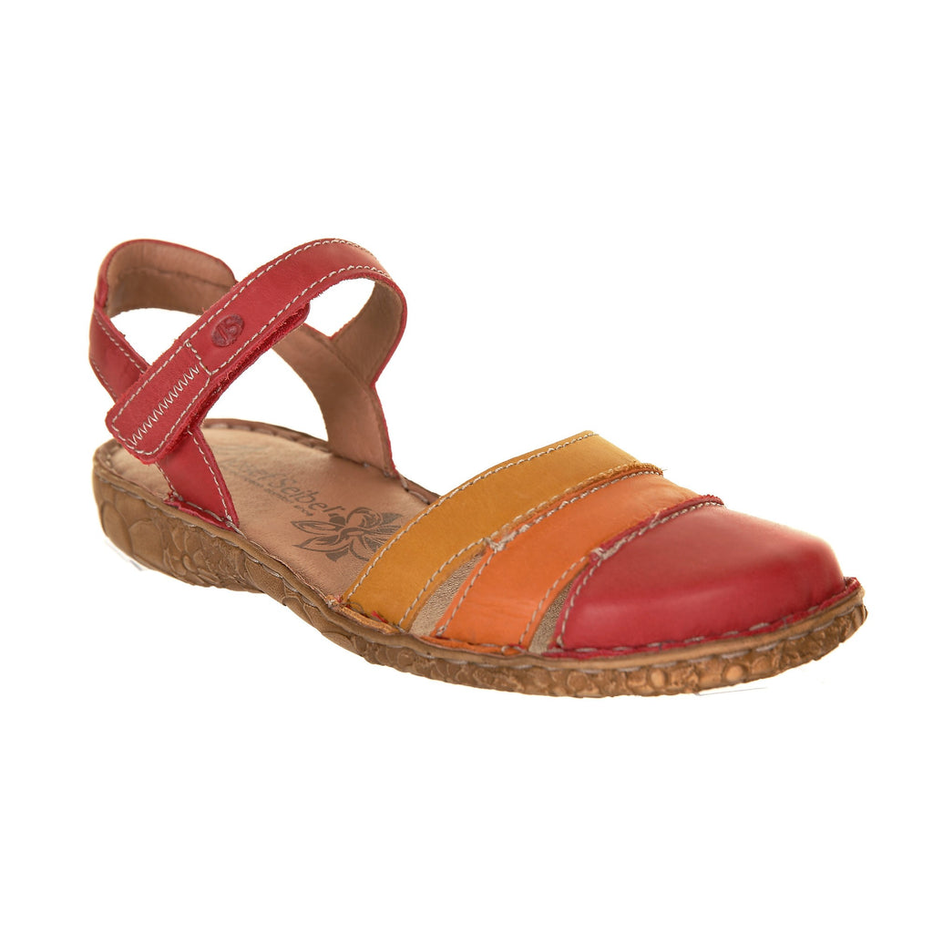 Josef Seibel Rosalie 44 Sandal Red Multi