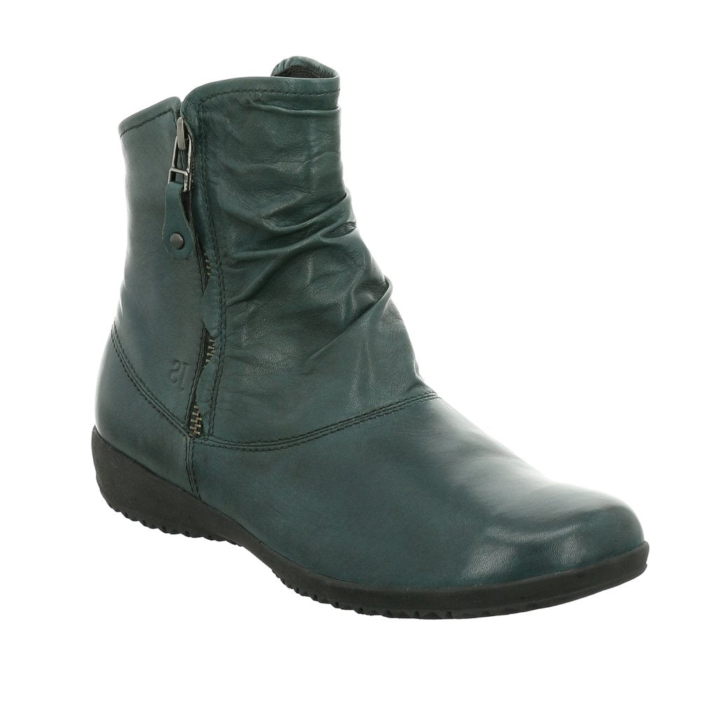 Josef Seibel Naly 24 Twin Zip Ankle Boot Petrol