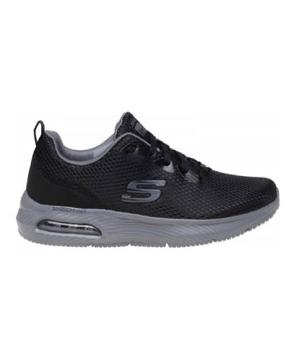 Skechers 52556 Dyna-Air Lace up Trainer Black/Charcoal