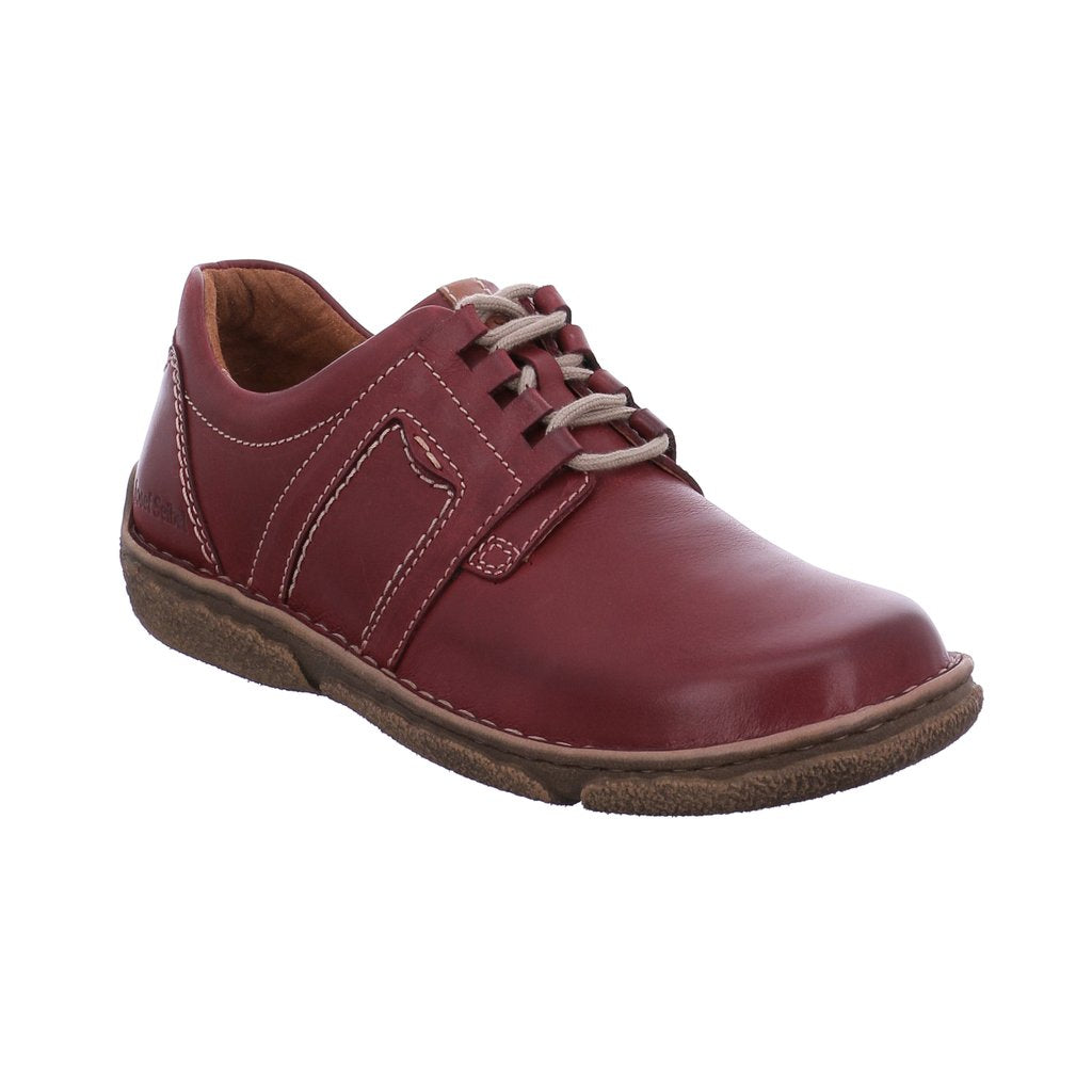 Josef Seibel Neele 44 Lace Up Ruby Kombi