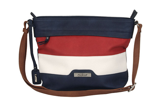 Rieker Bucket Bag H1328-14 Nautical Stripes