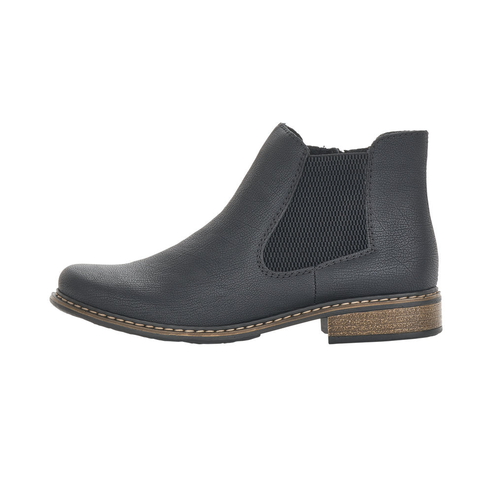 Rieker Z4994-00 Chelsea Boot Black