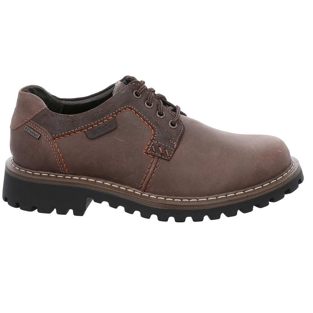 Josef Seibel Chance 08 Waterproof Lace Up Moro Brown
