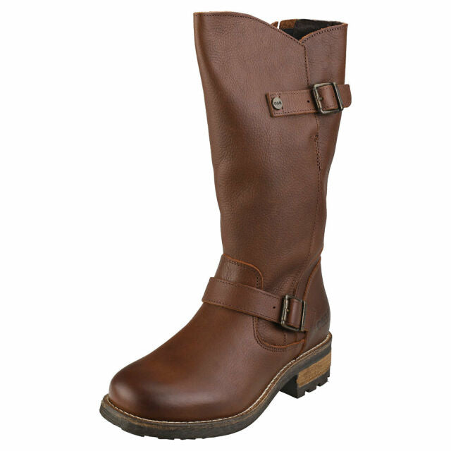 Oak & Hyde Crest Mid Calf Boot Brown