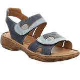 Josef Seibel Debra Adjustable Sandal Blue Multi