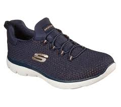 Skechers 149204 Summits-Bright Bezel Sporty Trainer NVGD