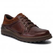 Josef Seibel Emil 58 Lace up Waterproof Shoe Brown
