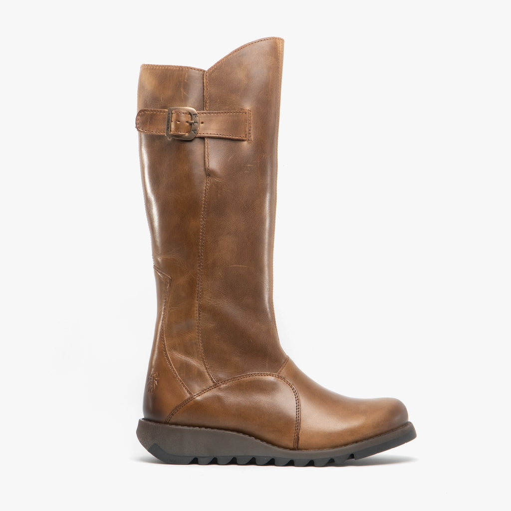 FLY LONDON MOL 2 TALL BOOT CAMEL