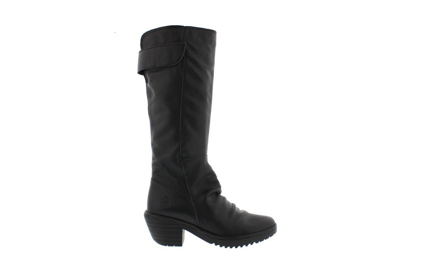 FLY LONDON WAKI TALL BOOT BLACK