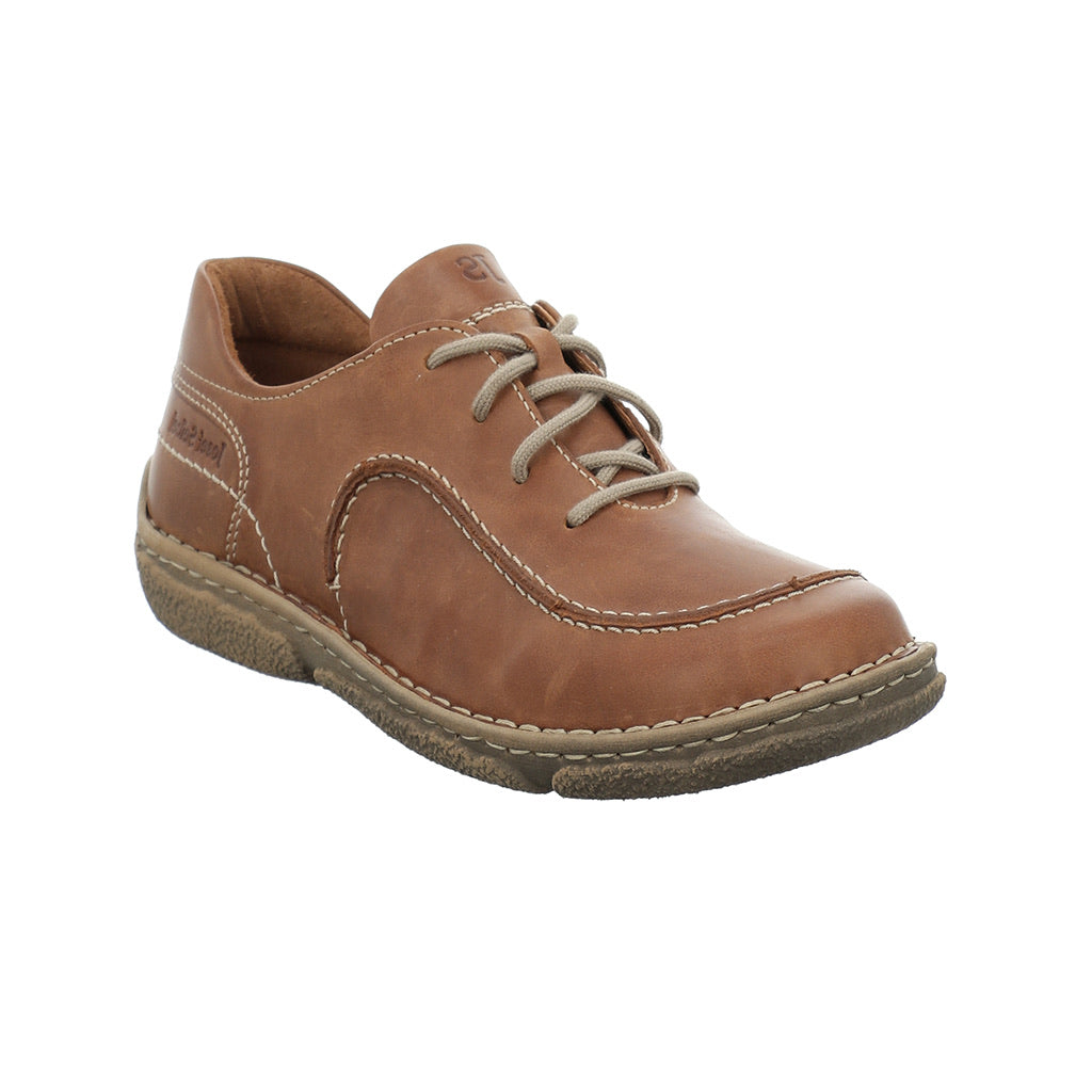 Josef Seibel Neele 48 Lace Up Casual Shoe Castagne