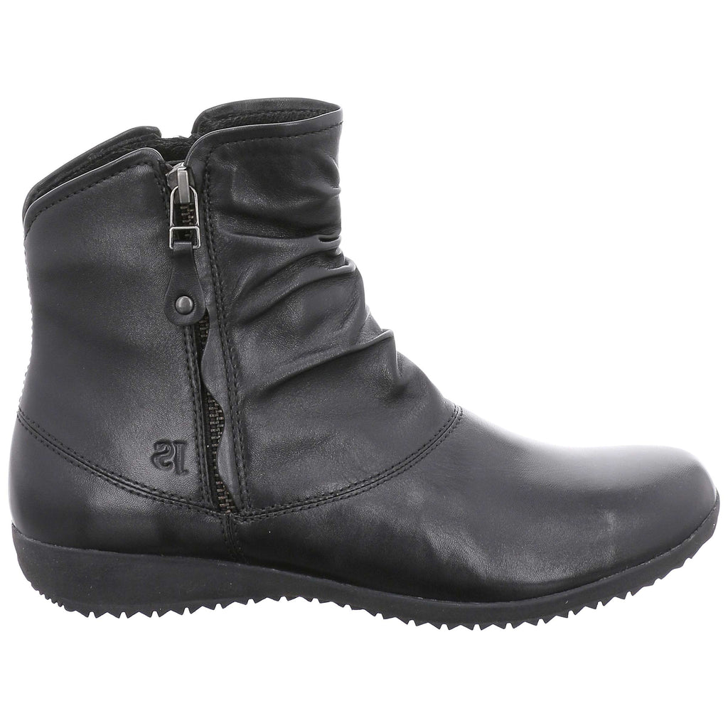 Josef Seibel Naly 24 Ladies Zip Boot Black