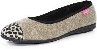 Lunar Denise 11 Pump Slipper Beige