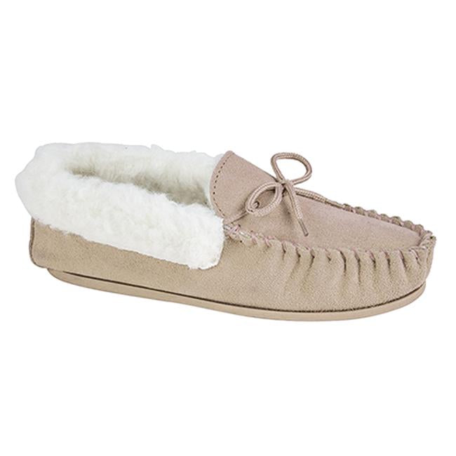 Mokkers Kirsty Moccasin Slipper LS351S Sand
