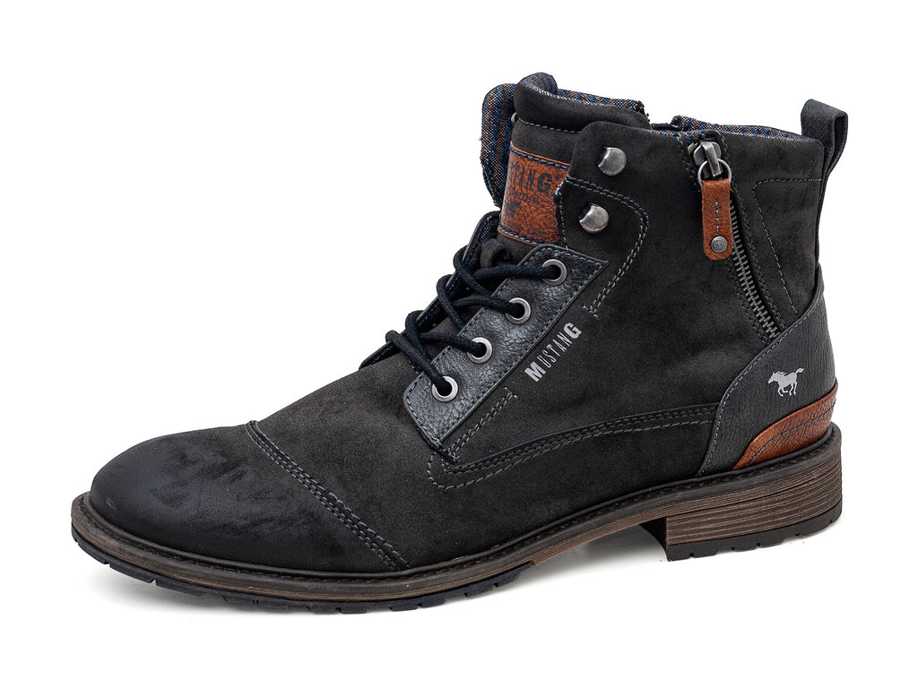 Mustang 4140-504/259 Mens Ankle Boot Grey