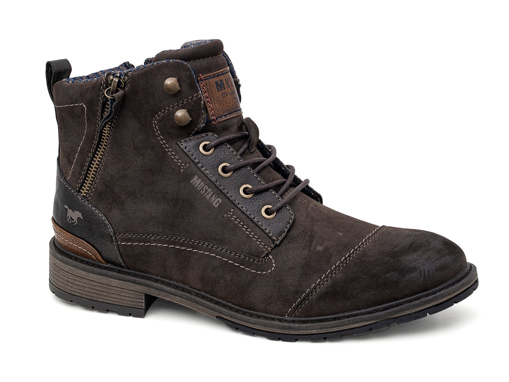 Mustang 4140-504/32 Mens Ankle Boot Brown