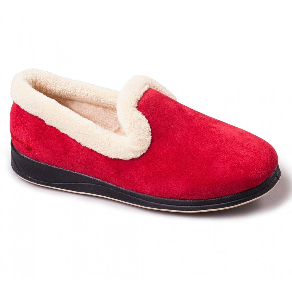 Padders Repose Slippers Red