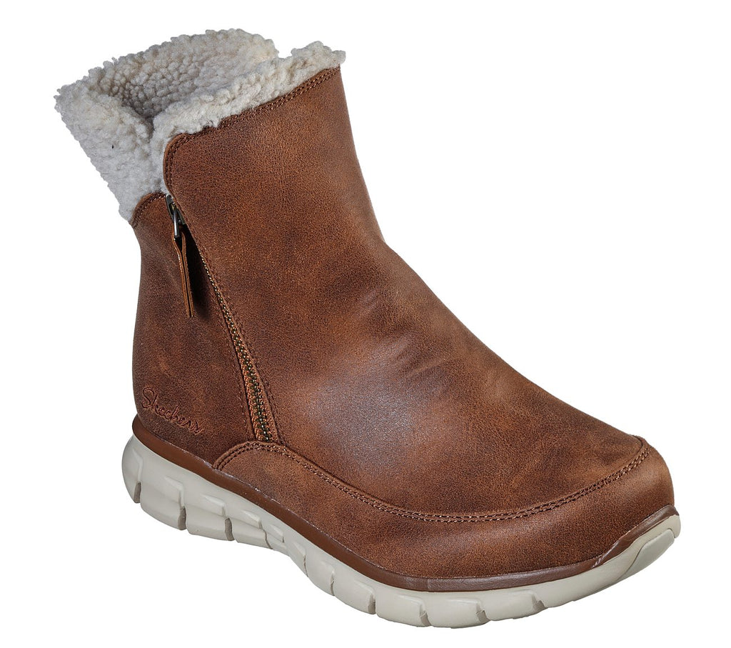Skechers 44779 Synergy Collab Ankle Boot Chesnut