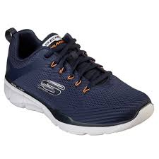 Skechers 52927 Lace-Up Trainer Navy