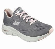 Skechers Arch Fit BIG APPEAL Trainer 149057 Grey/Pink