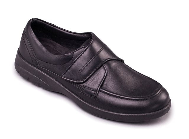 Padders Solar Wide Fit Shoe Black