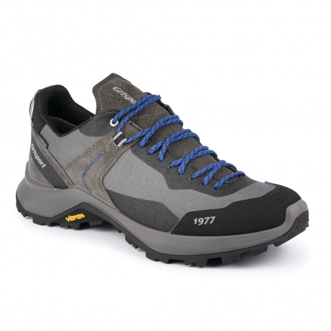 Grisport Mens Trident Walking Shoe Grey