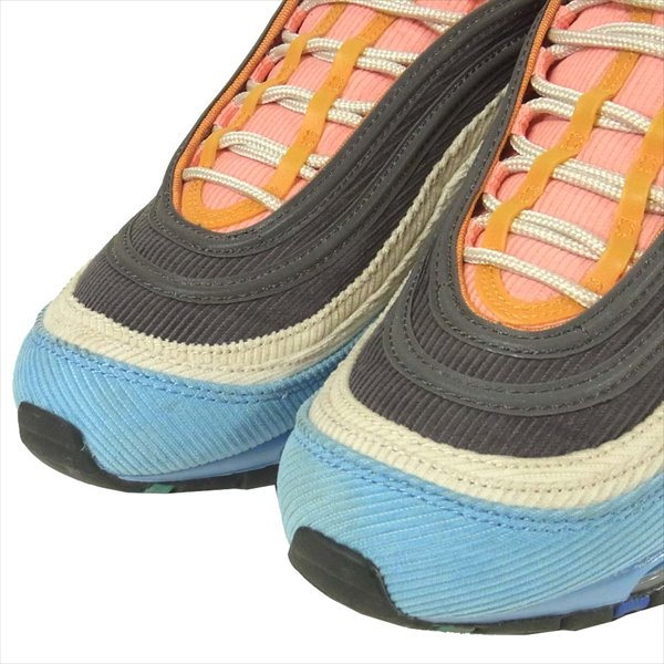 NIKE ナイキ CQ7512-462 Air Max 97 Men's Corduroy Light Blue スニーカー マルチカラー系 27cm【中古】