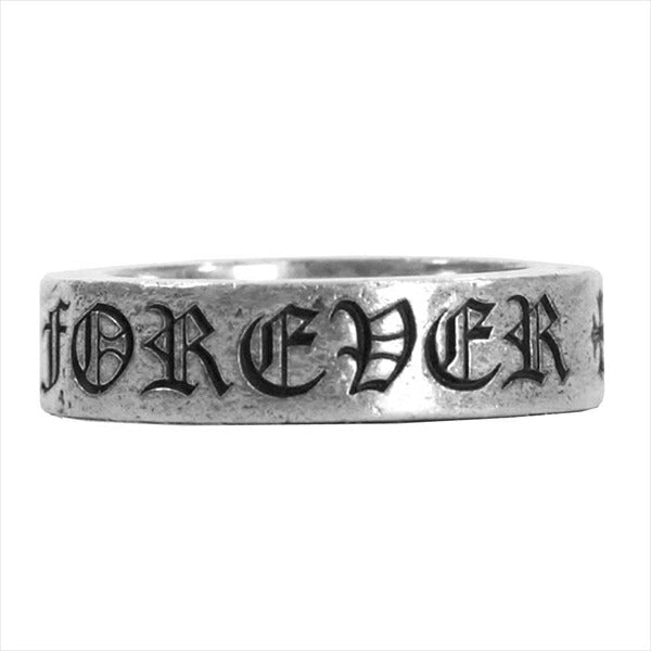 CHROME HEARTS クロムハーツ(原本無) 6mm SPACER FOREVER スペーサー フォーエバー リング シルバー -【中古】