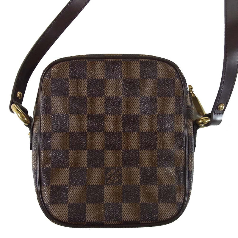 LOUIS VUITTON ルイ・ヴィトン N60009 ダミエ リフト バッグ ブラウン系【中古】
