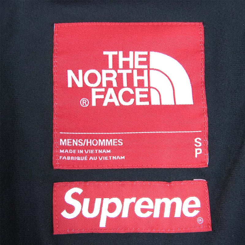 Supreme シュプリーム 18AW NP61807i 国内正規品 THE NORTH FACE ノースフェイス Leather Mountain Parka Jacket グリーン系 S【新古品】【未使用】【中古】