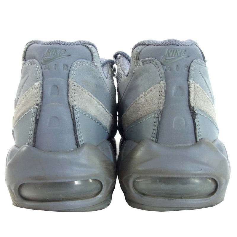 NIKE ナイキ AIR MAX 95 ESSENTIAL COOL GREY グレー系 27cm【中古】