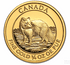 Gold Canadian Arctic Fox 1/4-oz