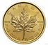 Gold Canadian Maple Leaf 1/2-oz