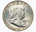 Silver Franklin Half Dollar Circulated