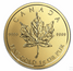 Gold Canadian Maple Leaf Maplegram 25