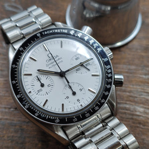 "Omega Speedmaster Reduced White Dial ""ALBINO"""