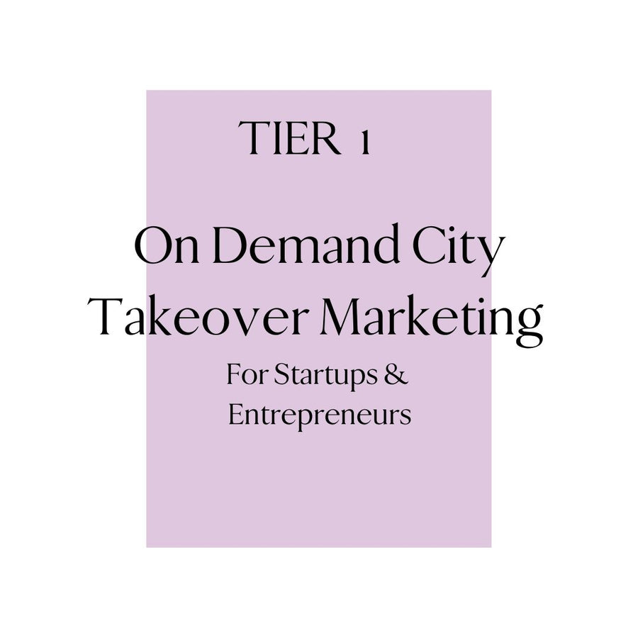 Tier 1: City Takeover Consulting