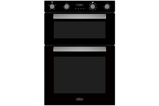 Belling Built-In Double Oven | BI909MFBLK | Black