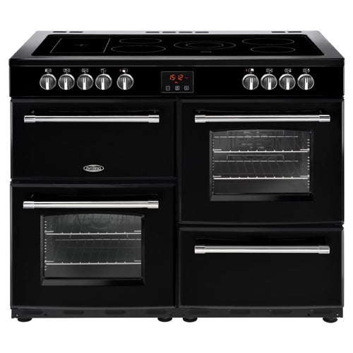 BELLING 110EBLK 110cm Cookcentre Electric Range Cooker -Black