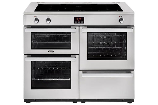 Belling Cookcentre 110cm Induction Range Cooker | 110EIPROFSTA | Stainless Steel 110EIPROFSTA (IN STOCK)