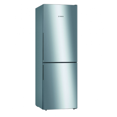 Bosch KGV33VLEAG 60/40 Fridge Freezer - Stainless Steel Effect