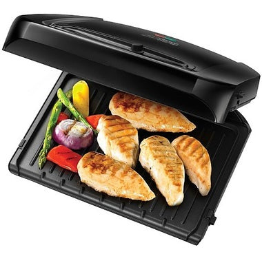 GEORGE FOREMAN 20850 HEALTH GRILL C/W REMOVEABLE PLATES