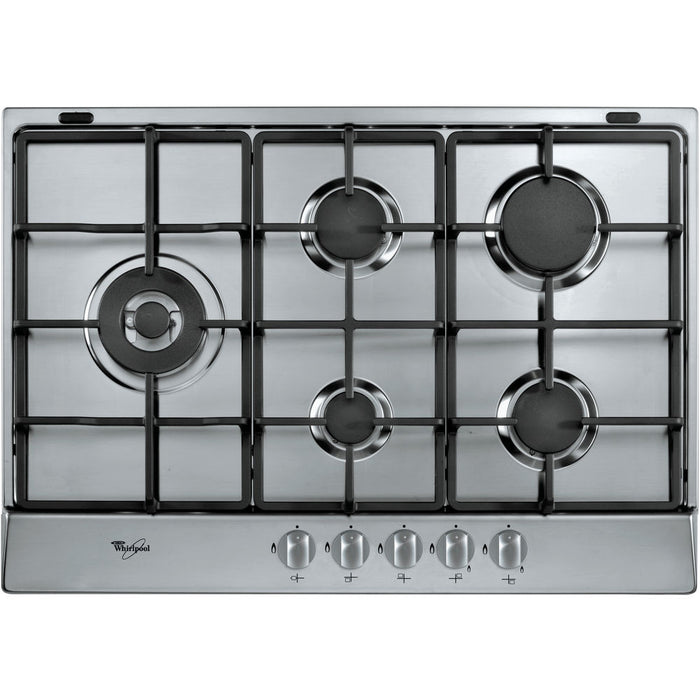 WHIRLPOOL gas hob: 5 gas burners - AKR 318/IX