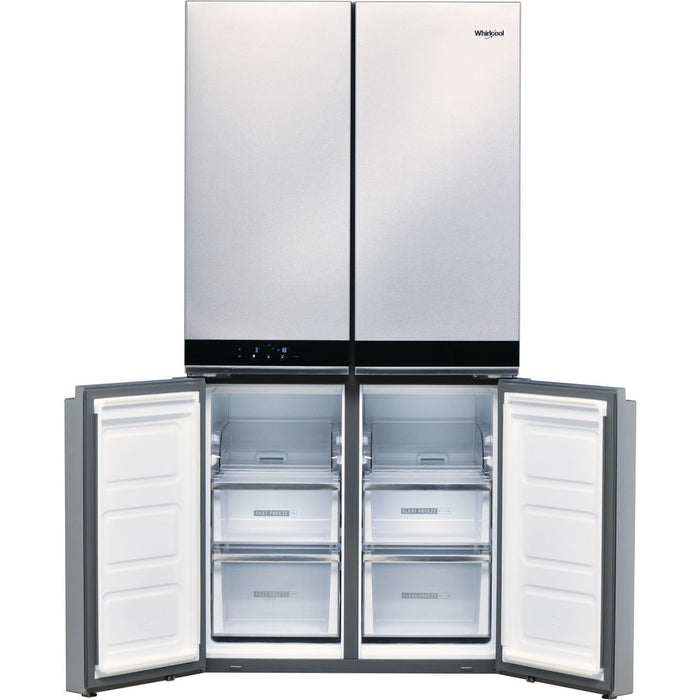 WHIRLPOOL W Collection 4 Doors WQ9B1L Fridge Freezer in Stainless Steel