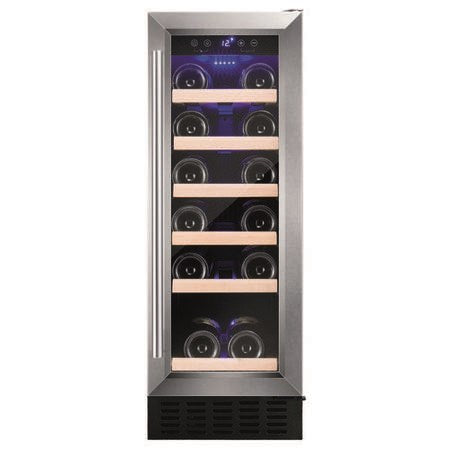 VersionAmica AWC300SS 30cm Freestanding Wine Cooler - Stainless Steel
